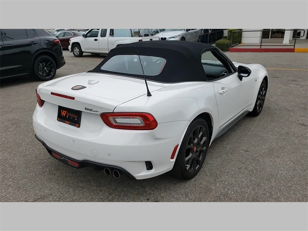 Certified Pre-Owned 2017 FIAT 124 Spider Abarth